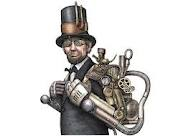 Steampunk Palin And Steampunk Lincoln Michael Bradley