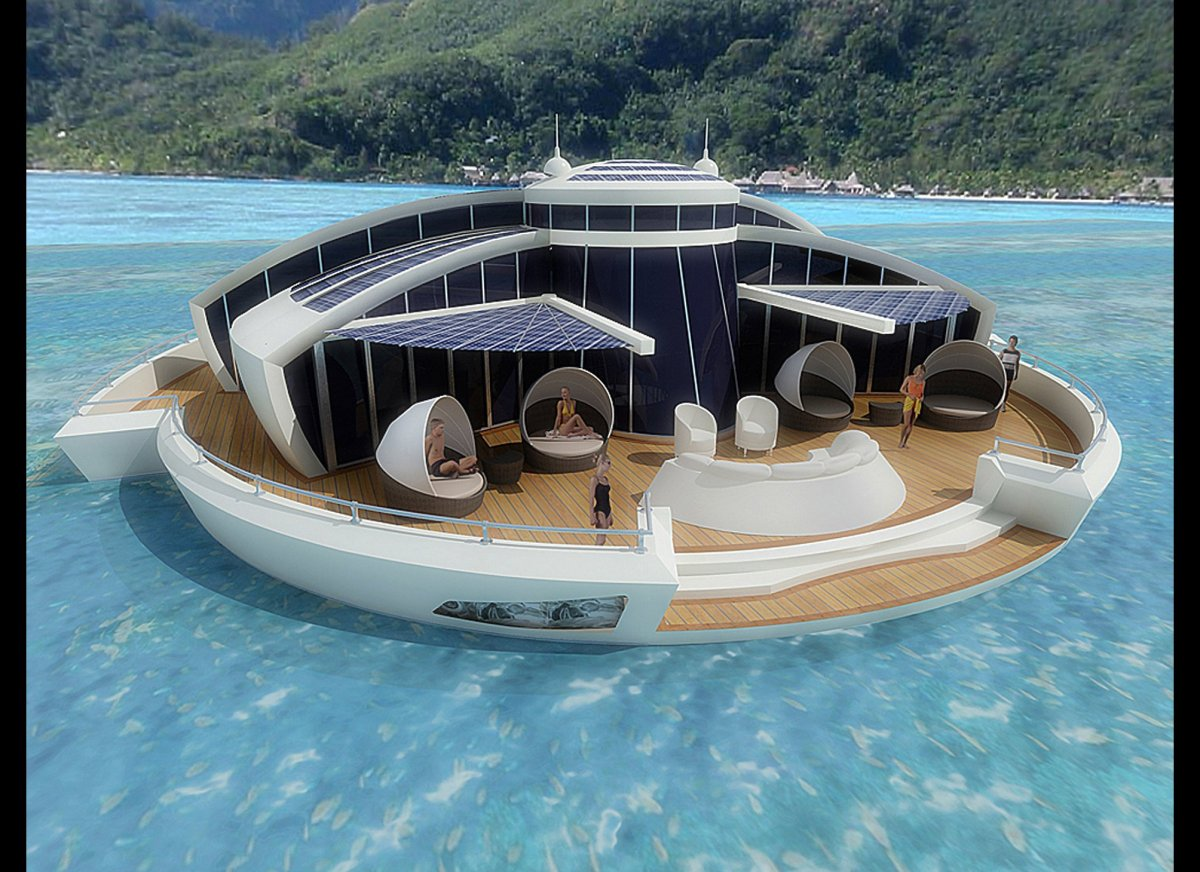 the floating resort The world's best floating hotels  the manta resort, tanzania seemingly cast adrift in the turquoise waters of the indian ocean,.