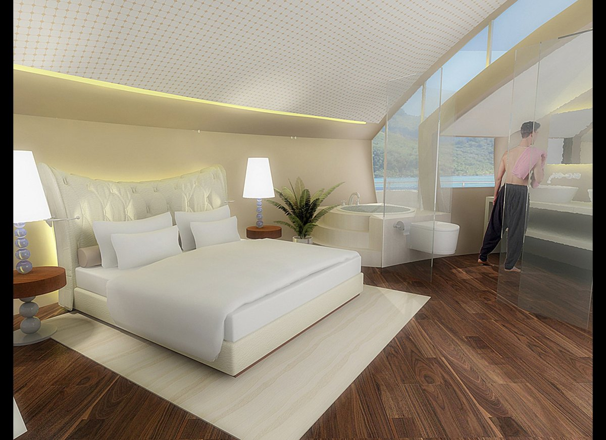 Ultra Modern Floating Hotel Room – Sweet Suite! | Michael ...