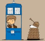 Snoopy is the Dalek, in case you are looking for the dog.