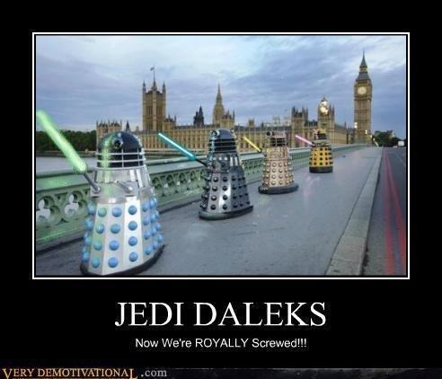 Daleks go to the Dark Side