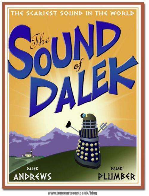 Not as popular sung by Daleks