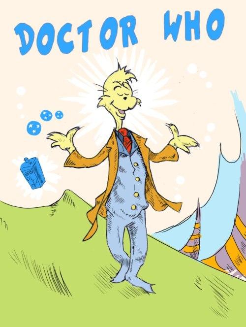 Horton hears a Dr. Who