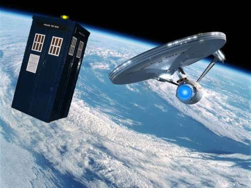 Going where no Tardis has gone before.