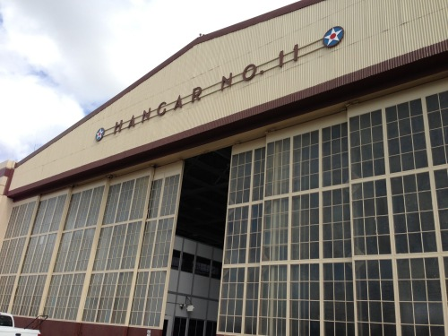 Hangar 11 today, what it looked like when I worked there is very similar.