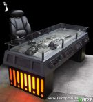 Han Solo carbonite desk, or maybe some other enemy you have.