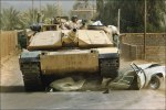 M1A1 Abrams.  problem here is the gas mileage and permits