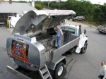 Mobile barbecue for the whole neighborhood!
