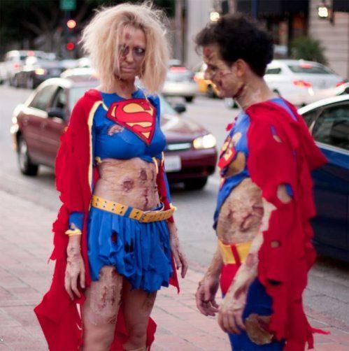 no Superman And Supergirl