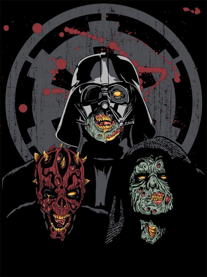 zombie star wars Star Wars T shirts for Halloween
