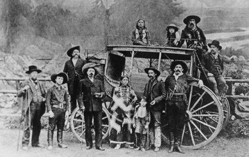 Buffalo Bill Cody's Wild West Show Players