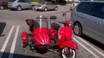 Sidekick in a sidecar