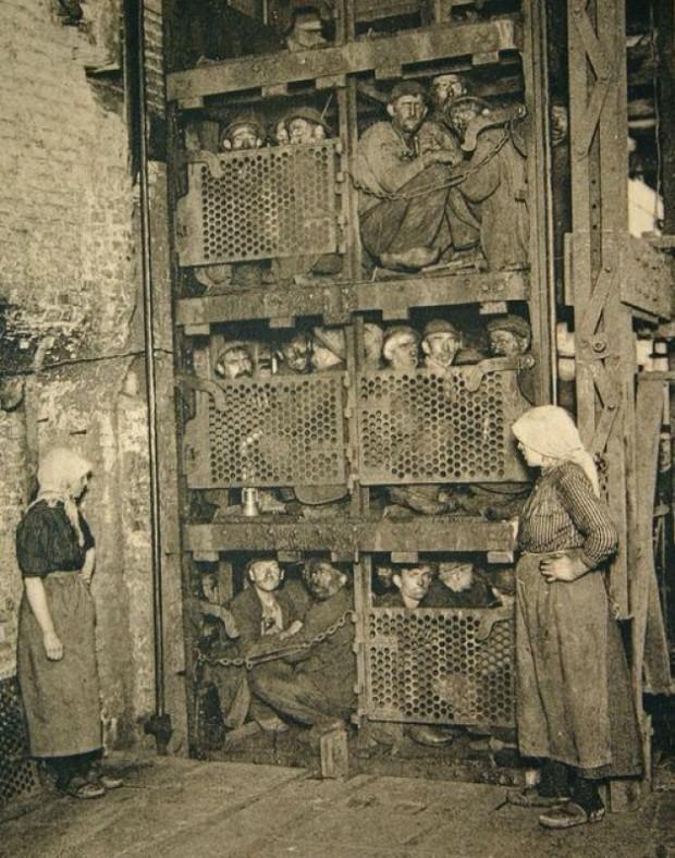 1900 Belgian Coal Miners Michael Bradley Time Traveler