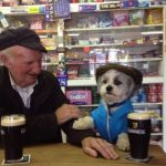 Nothin' like a pint with my wee furry friend