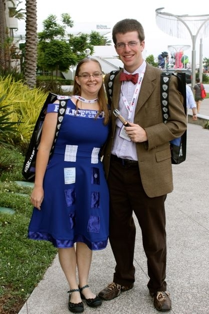 Saturday Cosplay Pictures Michael Bradley Time Traveler