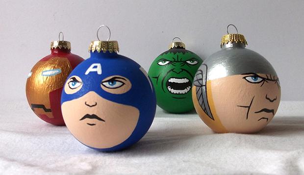Avengers-Captain-America-Thor-Hulk-Iron-Man-Christmas-Ornament - Avengers-Captain-America-Thor-Hulk-Iron-Man-Christmas-Ornament