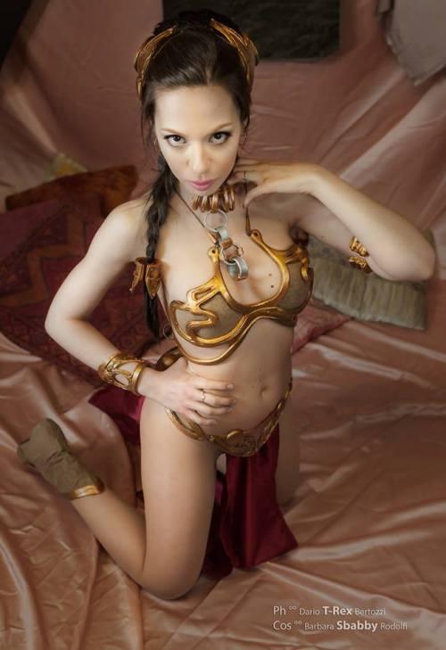 Slave girl Leia