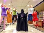 Darth Vader force chokes those meddling kids from Scooby Doo