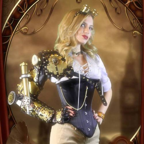 Amy Wilder, Steampunk Cosplay