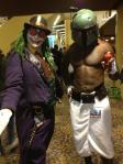 Steampunk Joker Mike Syfrit and Boba Fett Old Spice mashup