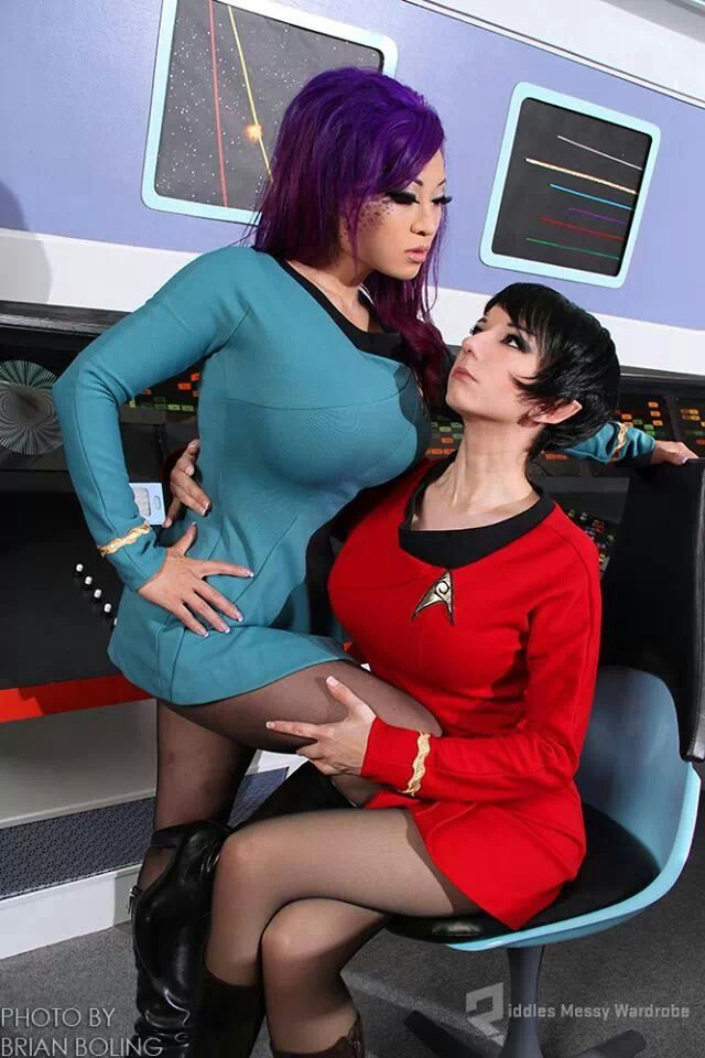 Final, sorry, Star trek cosplay sexy