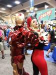 Iron Man and Harley Quinn