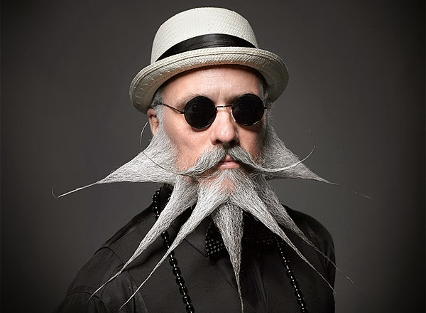 Weird Facial Hair Styles: Extreme Beards And Moustaches