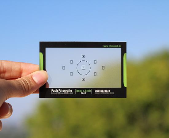 N Clear Transparent Business Card Q Michael Bradley Time Traveler