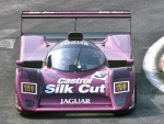 Purple Jag race car