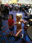 Spider girl and Lollipop Chainsaw