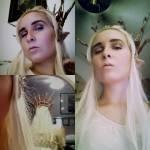 Tia Dworshak crossplay of Elven King Thranduil