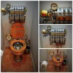 Steampunk commode