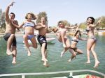 This is news coverage of spring break at Lake Havasu.  The post brags about all the 18 years olds in bikinis.