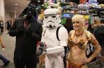 Star Wars - Raychul Moore as Slave Leia; this was at Wondercon