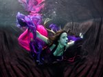 Underwater cosplay by Icy Cosplay