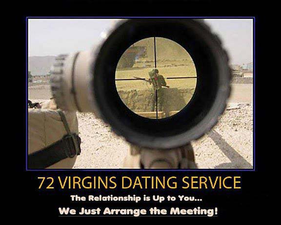 usmc 72 virgins dating service