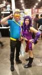 Cyclops and Psylocke