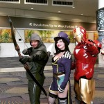 Green Arrow, Mad Moxxie, Iron Man