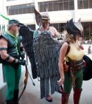Green Arrow, Hawkman and Hawkwoman