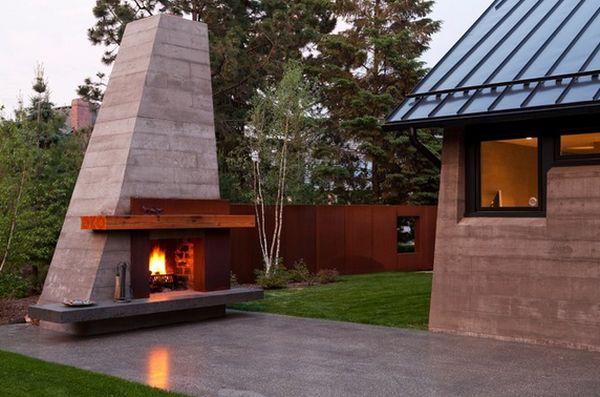 modern-outdoor-fireplace-design | Michael Bradley - Time Traveler