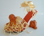 Spaghetti and Meatballs shoes