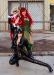 Bad girls of Gotham, Harley Quinn, Poison Ivy and Catwoman