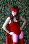 Icy Cosplay as Scarlet Witch