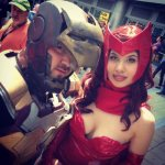 Halo and Scarlet Witch