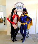 Vampirella and Batgirl