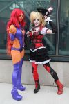 Star Sapphire and Harley Quinn