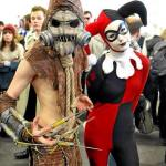 Scarecrow and Harley Quinn