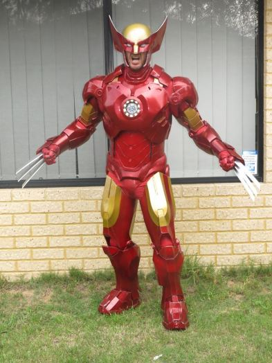 Ironman/Wolverine combo