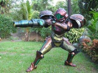 Samus Aran cosplay by Thebrambear